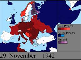 World War 1 Map Of Europe World War Ii In Europe Every Day Youtube