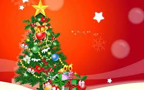 merry christmas tree ne wall