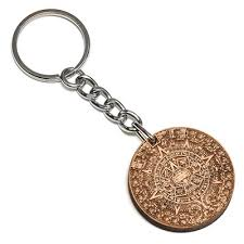 wooden keychains mayan calendar wood keychain buy wooden necklace swaggwood