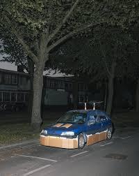 lexus van karton max siedentopf pimpt u0027s nachts willekeurige auto u0027s met karton