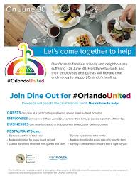 dine out for orlando united tonight central florida top 5
