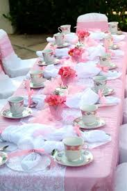 tea party tables tea party tables pink wedding table tea party table chatterworks