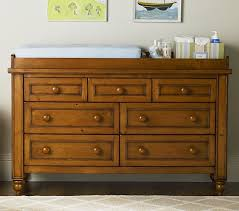 Dresser Changing Table Wide Dresser Changing Table Topper Pottery Barn