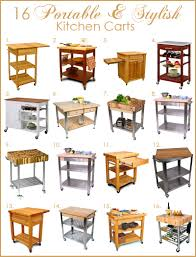 Wheeled Kitchen Island Excellent Portable Kitchen Island With Storage And Seating