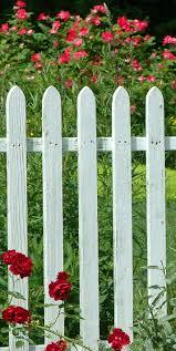 124 best fences images on pinterest white picket fences white
