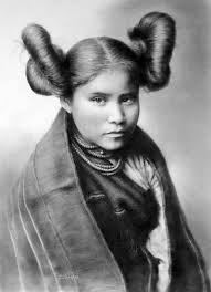 hopi girl american indians and edward curtis