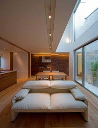 Japanese Style Home Interior Design Minimalist Japanese Residence Blends Privacy With An Airy Interior