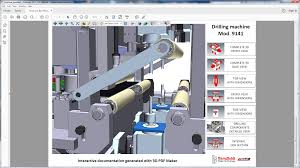 3d pdf maker for autodesk inventor inventor autodesk app store