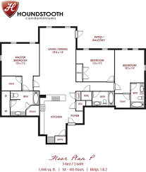 houndstooth condos apartment in tuscaloosa al 2 bedroom 2 5 bath two bedrooms 2 5 1 650 00 1 000 00 yes floorplan img