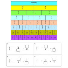 free worksheets simple equivalent fractions worksheet free