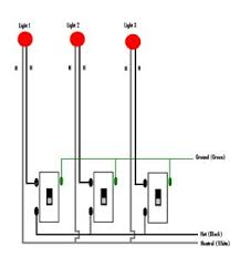 circuit diagram for 2 way 2 gang light switch with 2 lights fixya