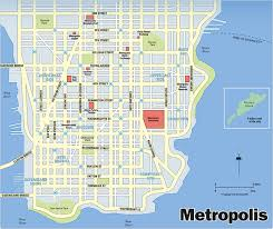 map of dc universe usa metropolis dc extended universe wiki fandom powered by wikia