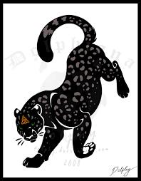 tribal jaguar by dolphydolphiana on deviantart