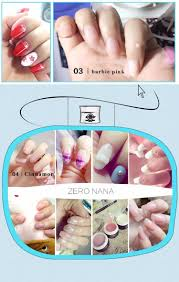 zero nana 5 pure color multi functional modelling extension gel