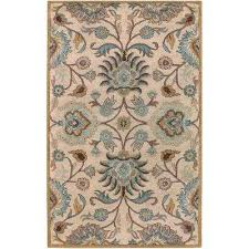floral area rugs rugs the home depot