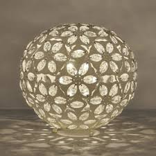 buy moroccan style metal table lamp cream from our table desk