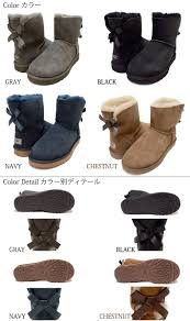 ugg bailey bow navy blue sale shoe get rakuten global market s sale ugg australia mini