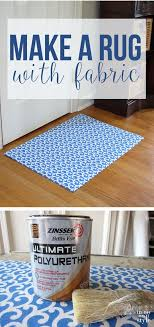 Diy Area Rug From Fabric Gorgeous Diy Area Rug From Fabric With Best 25 Fabric Rug Ideas On