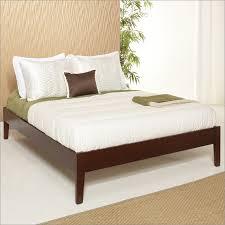 Simple Platform Bed Frame Newport Simple Platform Bed In Cordovan By Modus Furniture