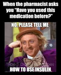Type 1 Diabetes Memes - it s the same thing every month i mean type 1 diabetes memes