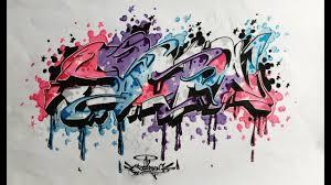 graffiti sketch 2017