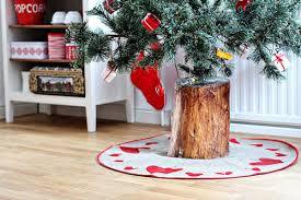 christmas tree holder looking how to make a christmas tree stand log