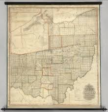 Chillicothe Ohio Map state of ohio david rumsey historical map collection
