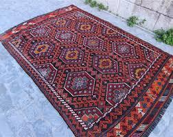 Vintage Turkish Kilim Rugs Vintage Kilim Rug Etsy