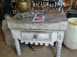 antique french butcher table exle of a shopping day riad kneife