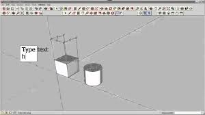 sketchup text and dimensions youtube
