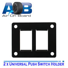 toyota product line universal switch panel to suit 2 of our 900 series toyota push