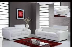 Contemporary White Leather Sofas Sofa Glamorous White Leather Sofa Set Modern White Leather Sofa