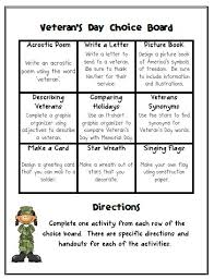 veterans day choice board ashleigh u0027s education journey