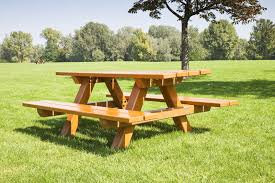 Free Plans For Building A Picnic Table by How To Build A Picnic Table Bench Ebay