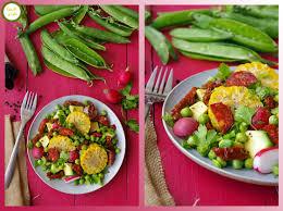 cuisiner des epis de mais recette salade légumes frais épis de maïs cuisine