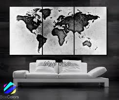 World Map Prints by World Map Canvas 40 Options Jane