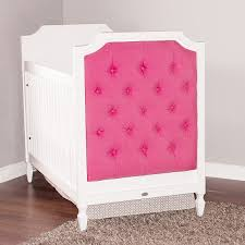 Discount Convertible Cribs by Nursery Decors U0026 Furnitures Crib With Upholstered Headboard Also