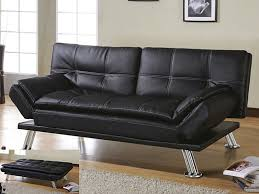 Futon Leather Sofa Bed Brilliant Amazing Futon Sofa Bed Costco With Small Home Interior