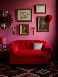 Bright Red Sofa Strong And Handsome With A Soft Side The James Sofa Captures The