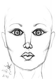 simple face drawings 1000 images about drawings on pinterest