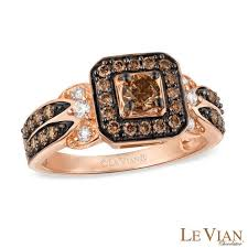 levian wedding rings le vian chocolate diamonds 7 8 ct t w square frame ring