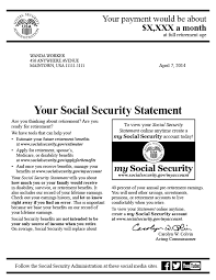 Income Verification Letter Sle The Social Security Statement Background Implementation And