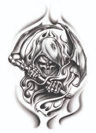 reaper tattooforaweek temporary tattoos largest