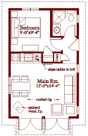 Weekend Cabin Floor Plans After A Good Deal Of Research I Settled On A Set Of Plans Called