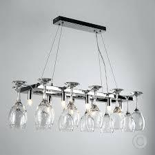 diy wine glass chandelier u2013 eimat co