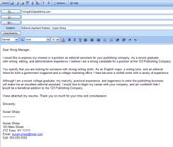 brilliant ideas of email cover letter sample for job application