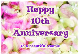 10th wedding anniversary sparkling 10th wedding anniversary ecard greetingshare