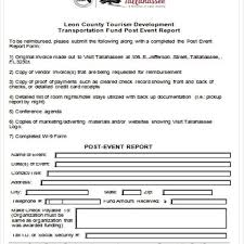 post event report template event report template 16 event report template free sle