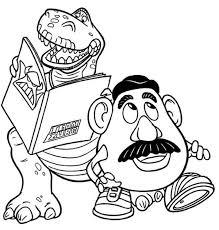 Potato Head Kit Toy Story Rex Potato Head Toy Story Coloring Download