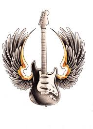 guitar with wings by willemxsm on deviantart